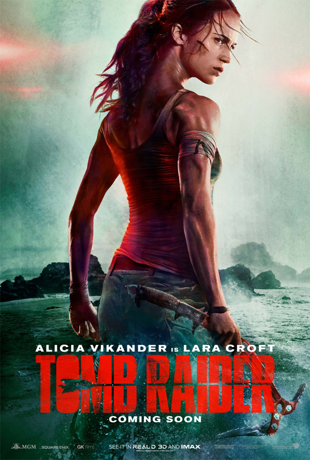 Of all the things I can say about this poster, the one thing I will say is that her neck looks weird to me.
