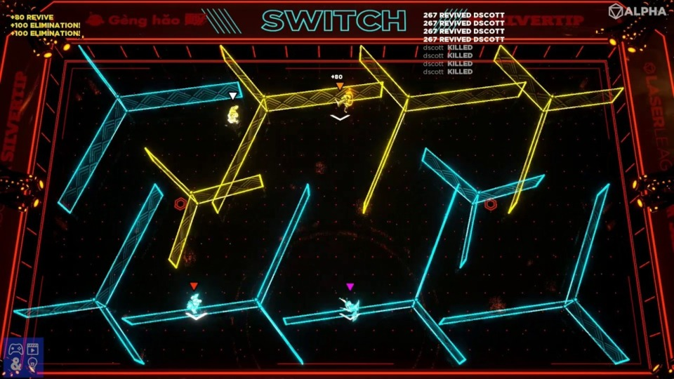 It's like Tron's light cycle, but you don't draw the lasers.
