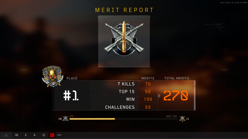 Blackout victories are oh so sweet.