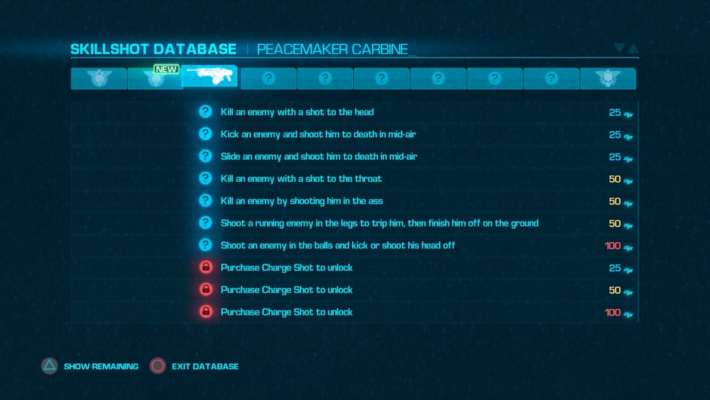 Many challenges are offered in this game that adds variety to the combat.