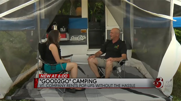 WCAX Interview with Good2GoCamping