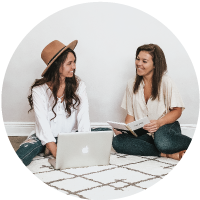 Hello Brand Collective | Founders Katelyn and Nicole