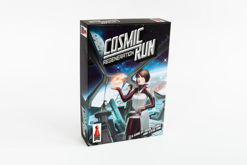 Cosmic Run: Regeneration -  Doctor Finns Games