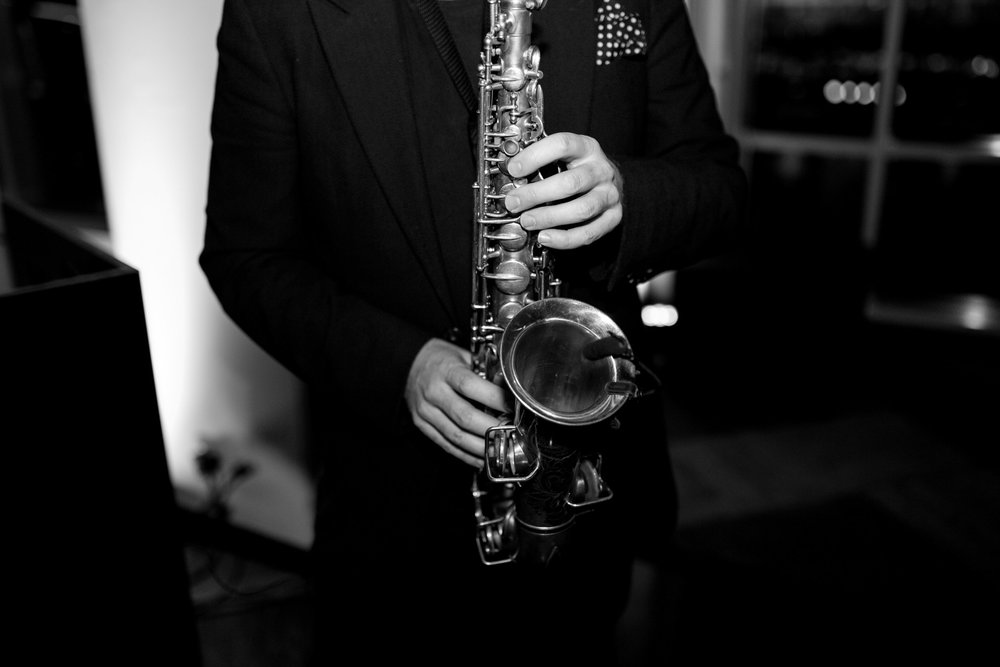 THE MUSIC - Jarrad Lees on the Saxophone