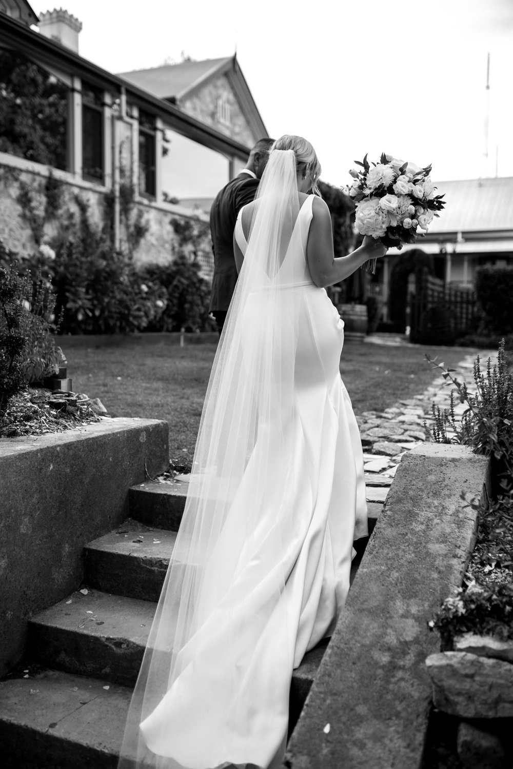 THE BRIDE - GOWN : Caleche Bridal House