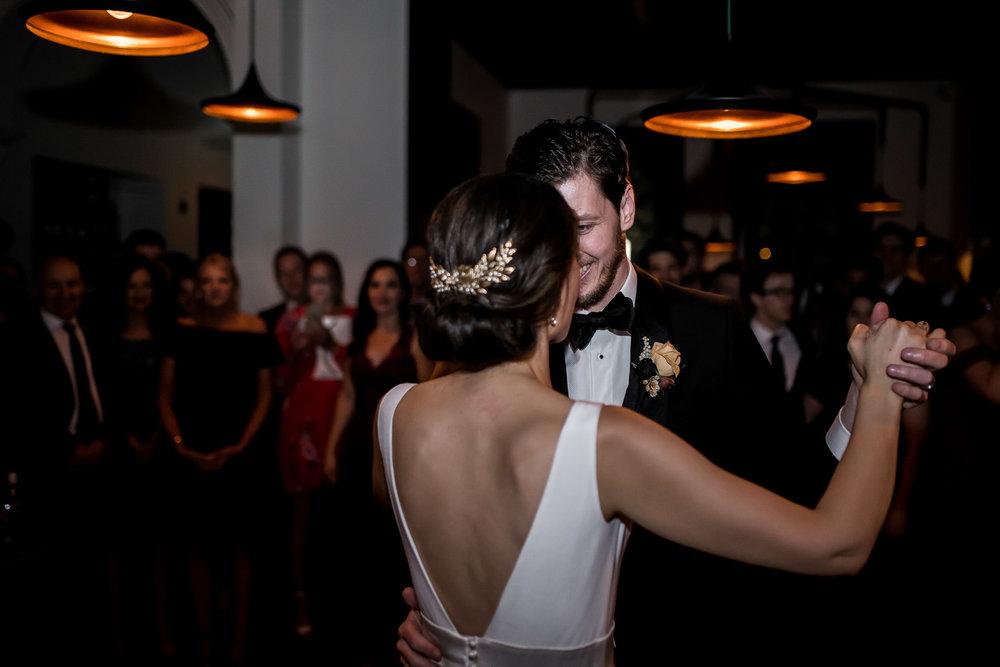 Jessica & Reece - An intimate inner-city Melbourne wedding.