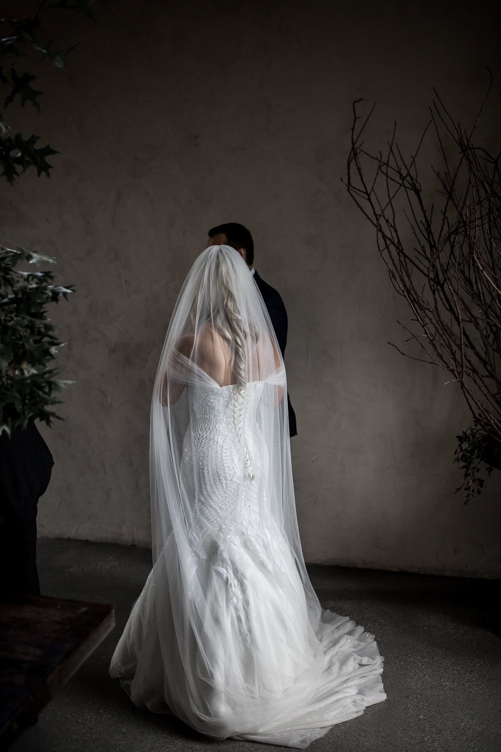 THE BRIDE - GOWN : Roz La Kelin