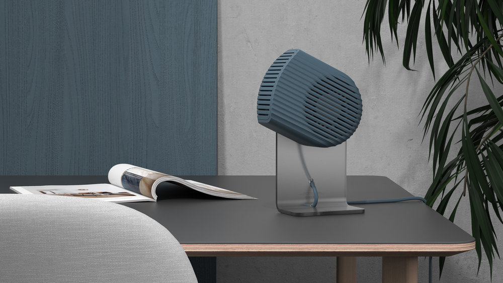 Flo Desk Fan Studio Elk