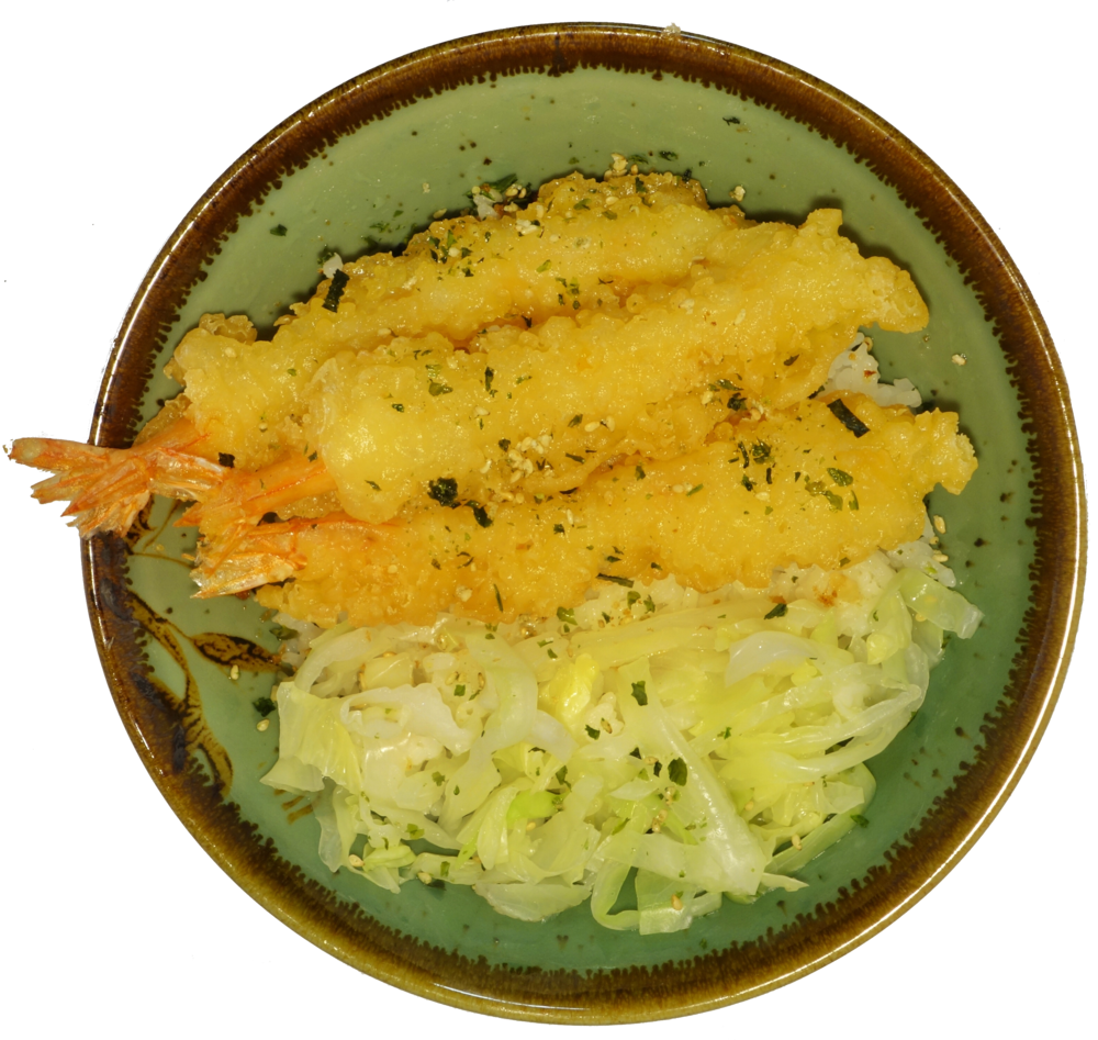 Donburi Shrimp Tempura.PNG