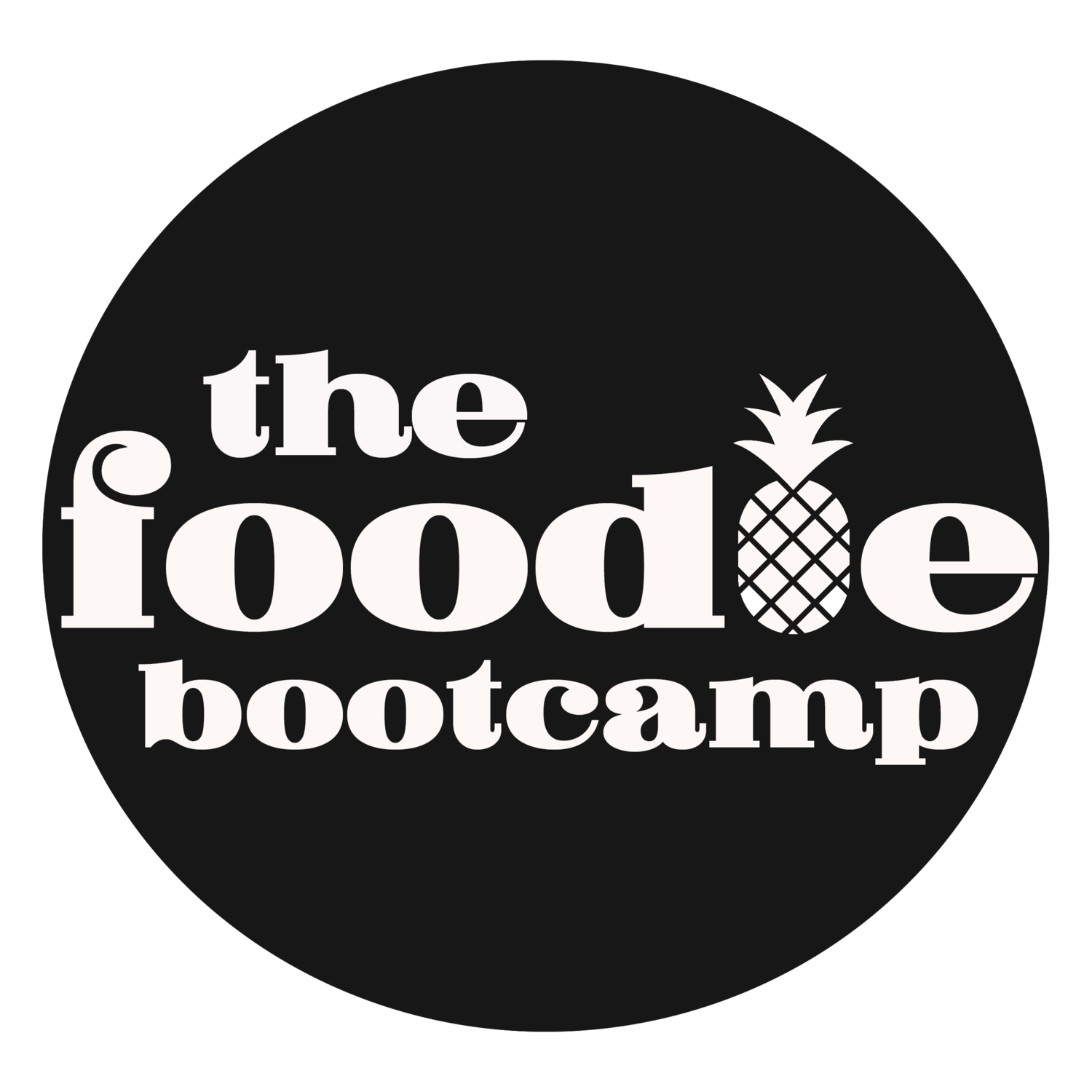 The Foodie Bootcamp