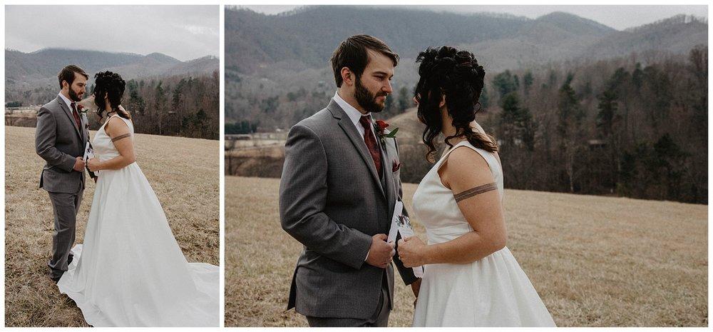 Asheville North Carolina Elopement| North Carolina elopement photographer| Wild Onyx Photography| www.wildonyxphotography.com