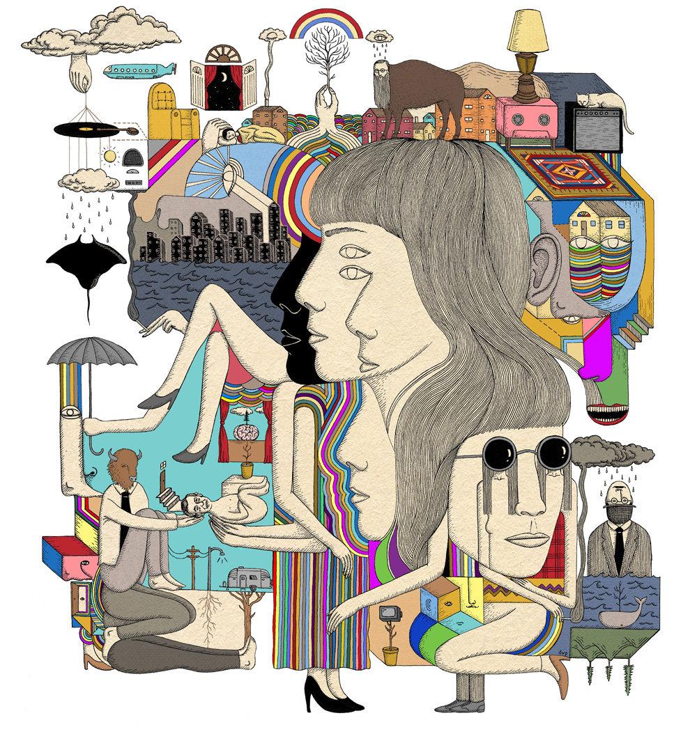 Rachel Rufrano : Digiphrenia (2013)
