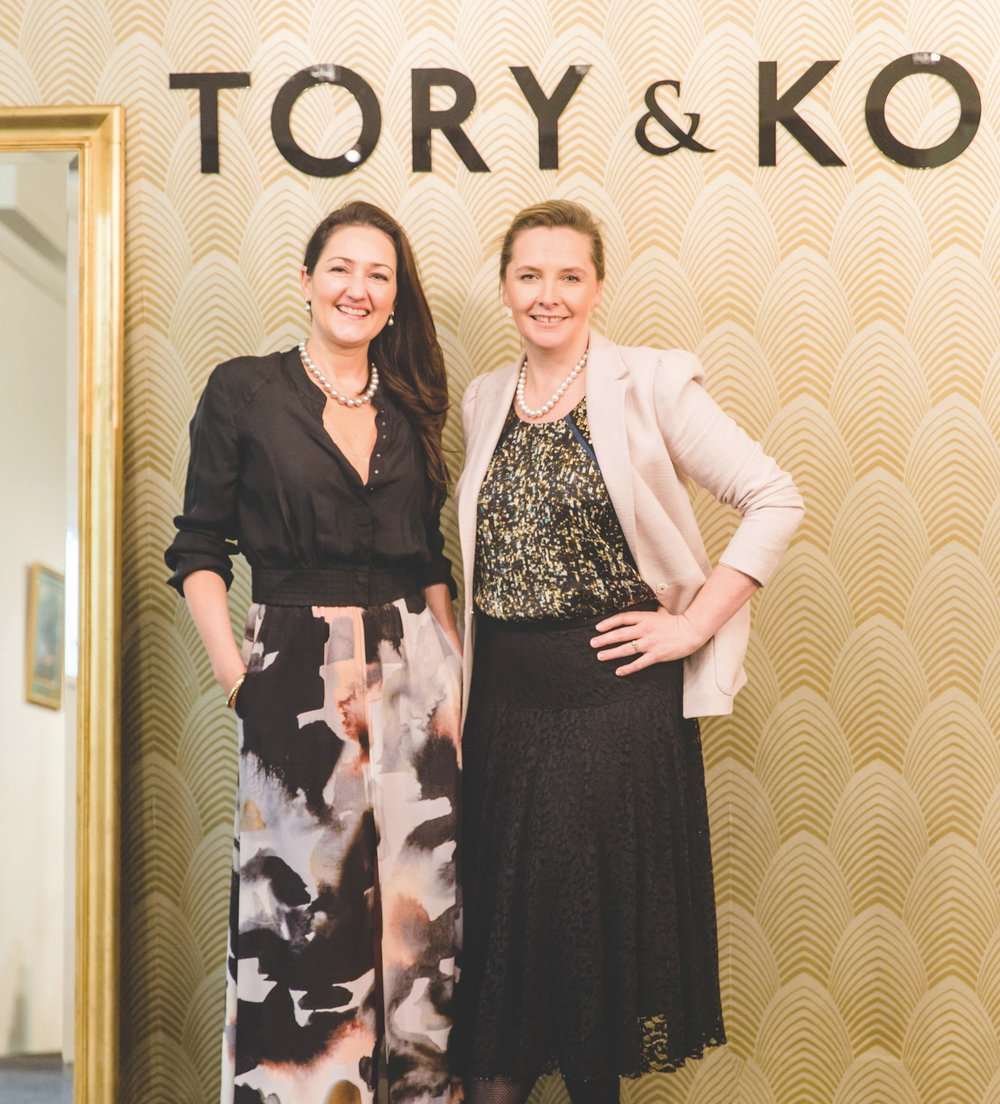 Kirstin O'Brien and Victoria Taylor of TORY & KO. Jewellers welcome you to their Fine Jewellery Boutique in The Old Bank Arcade, 233 - 237 Lambton Quay, Wellington, New Zealand.  They work with clients all over the globe so feel free to contact them via e-mail:  jewellery@toryandko.com