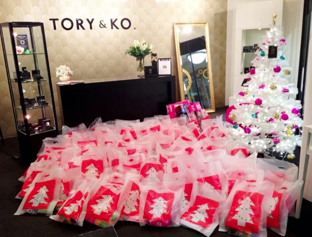 200 Presents under our Tree 2012