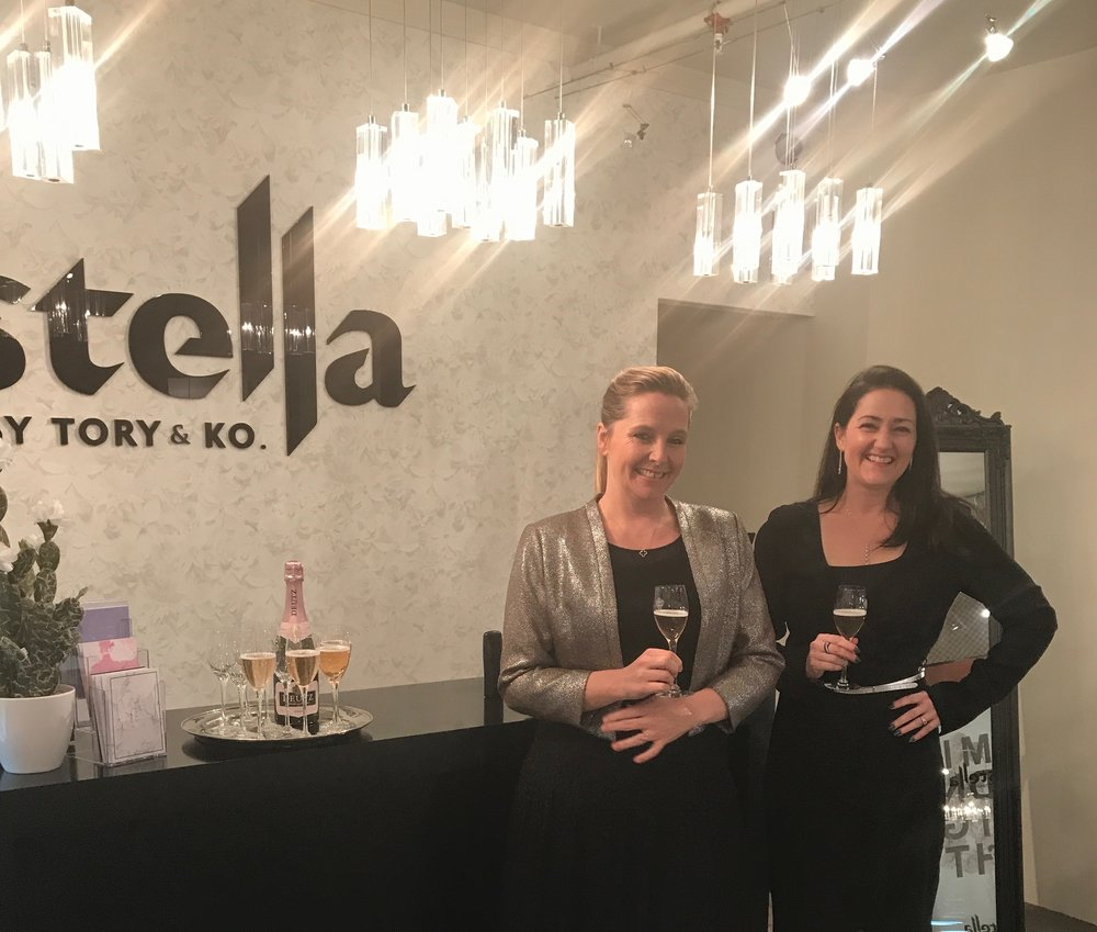 Victoria Taylor and Kirstin at the Opening of their Stella Boutique.jpeg