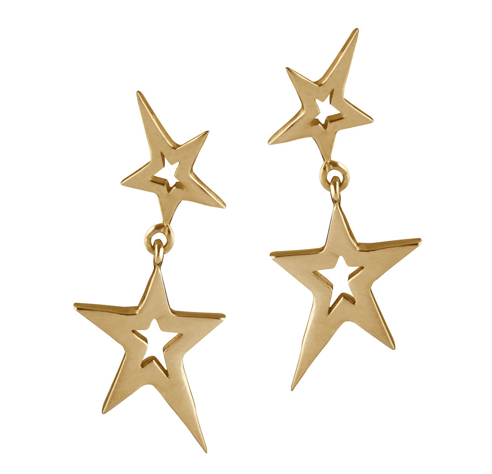 Swinging Star Earrings (Gold).jpg