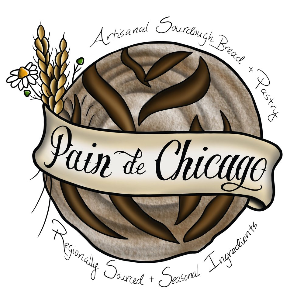 - Pain de Chicago is a family-owned, small business startup. Our mission is to provide excellent food that supports Midwestern regional and seasonal harvests through traditional preparation and preservation. Our artisan breads are produced in small batches, naturally-leavened, long fermented, and made with love. Follow us to stay connected with where to find our products, and to show your support for our growing dream.