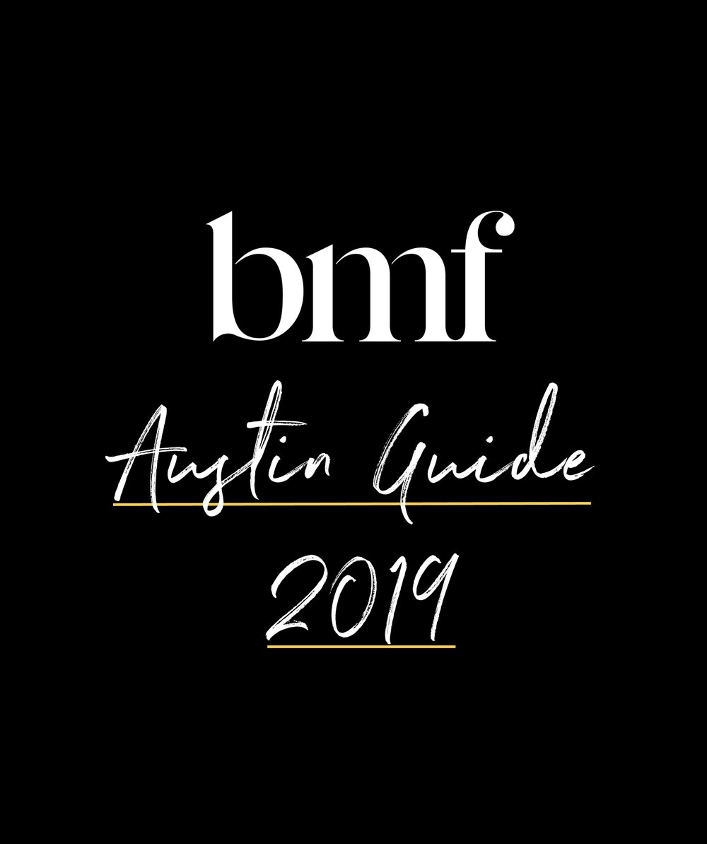 BMF's SXSW Guide 2019 - Attending SXSW this year? To influence all the places you may linger, the BMF Austin team has curated a guide to help you wander simply →