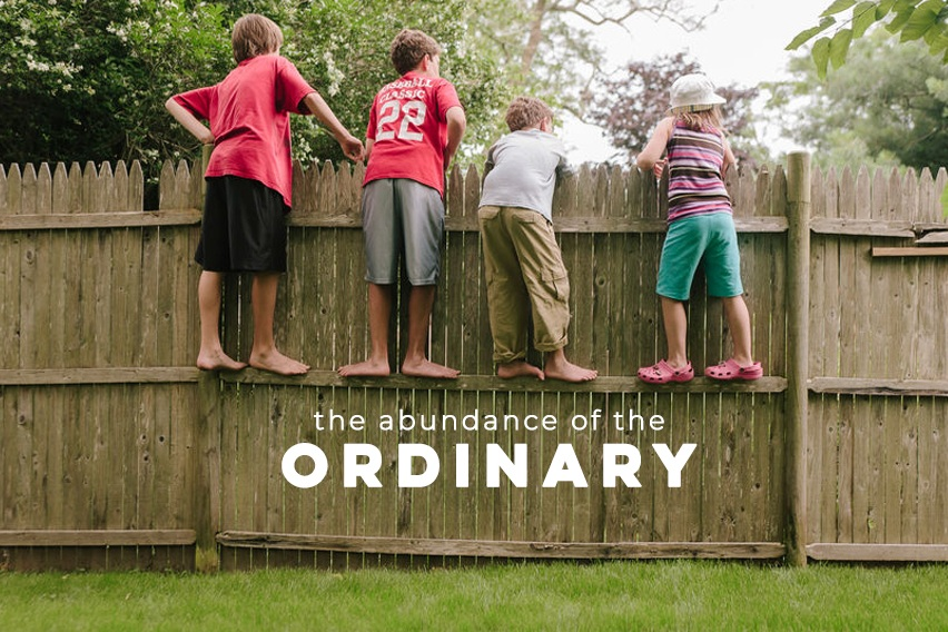 """Twelve percent of U.S. adults say it's """"completely true"""" that they spend time each day doing something that recharges them. (Barna) If this is you, consider taking the next chance you get to pause and enjoy what author Andy Crouch calls """"the abundance of the ordinary."""""""