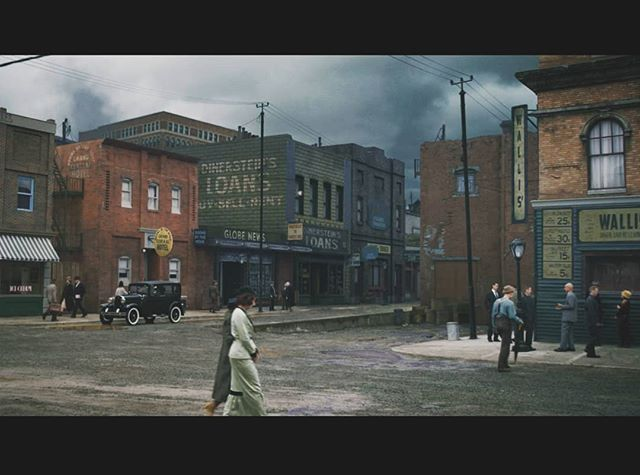 Matte painting created for the opening sequence in the Netflix feature '1922' for Siamese productions. #1922 #mattepainting #netflix #stephenking #3d #rendering
