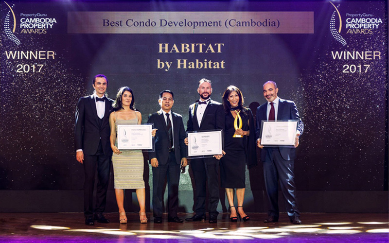 Habitat - The Habitat is a luxury condo in Phnom Penh near EON-MAIL. They are using other brand of our Electronic Keylock is