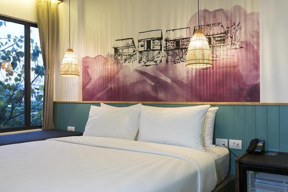 Lub D Siem Reap - 所有在LUB D酒店安装的电话都是纤薄并易于使⽤的,对于客户体验和⽤于酒店活动展⽰都⼗分有成效。我们酒店对LM技术⼗分满意。