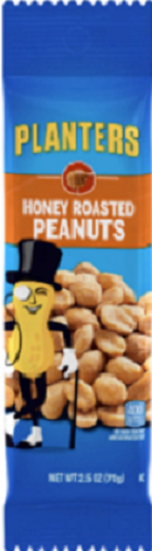 Planters Peanuts Snack History