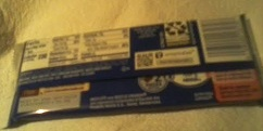 Crunch Bar Back In package