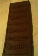 Crunch Bar Front Out OF Package