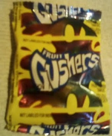Fruit Gushers front of package