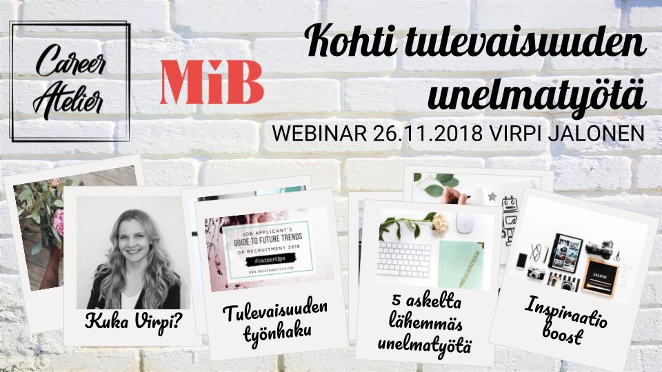 Photos: Virpi Jalonen | Chuttersnap | Jazmin Quaynor | Laura Olsen | Rawpixel Unsplash