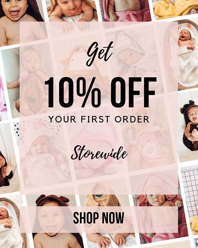 Oh Yes, oh Yes! Get your 10% OFF ❣️ www.mibaloo.com.au . . . #mibaloo #bamboo #bamboobaby #baby #babybath #bathtime #babygift #babyshower