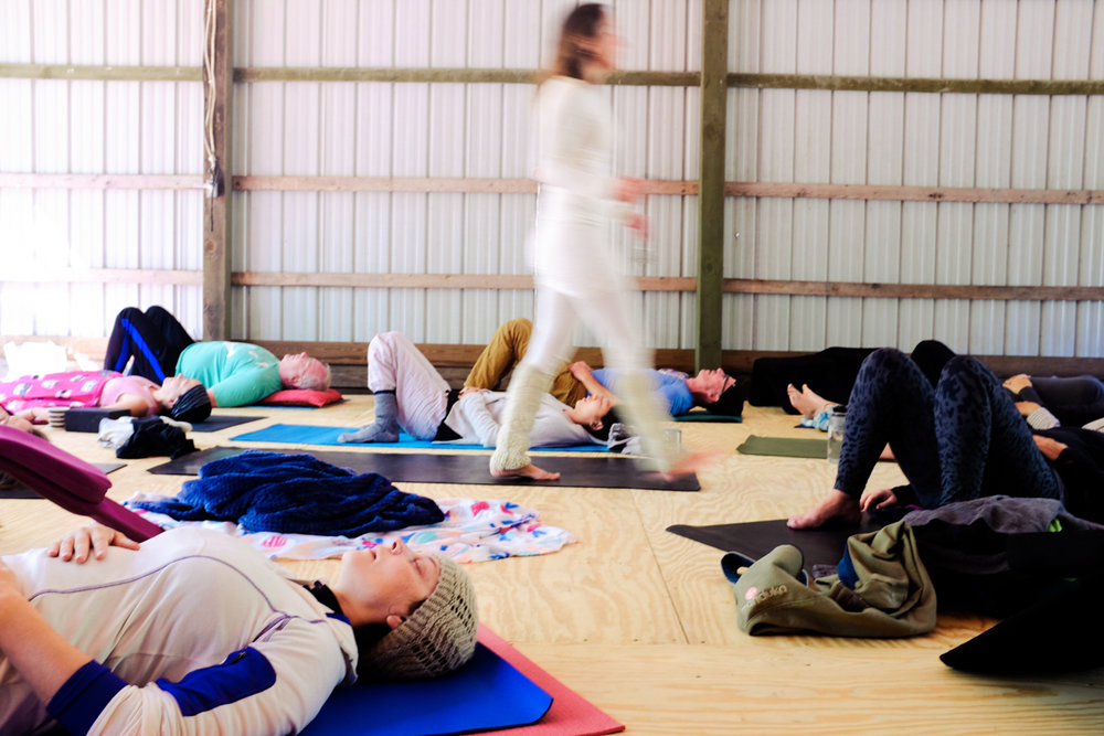 A Yoga Festival Adventure#ASRharvest - Wisconsin Moon