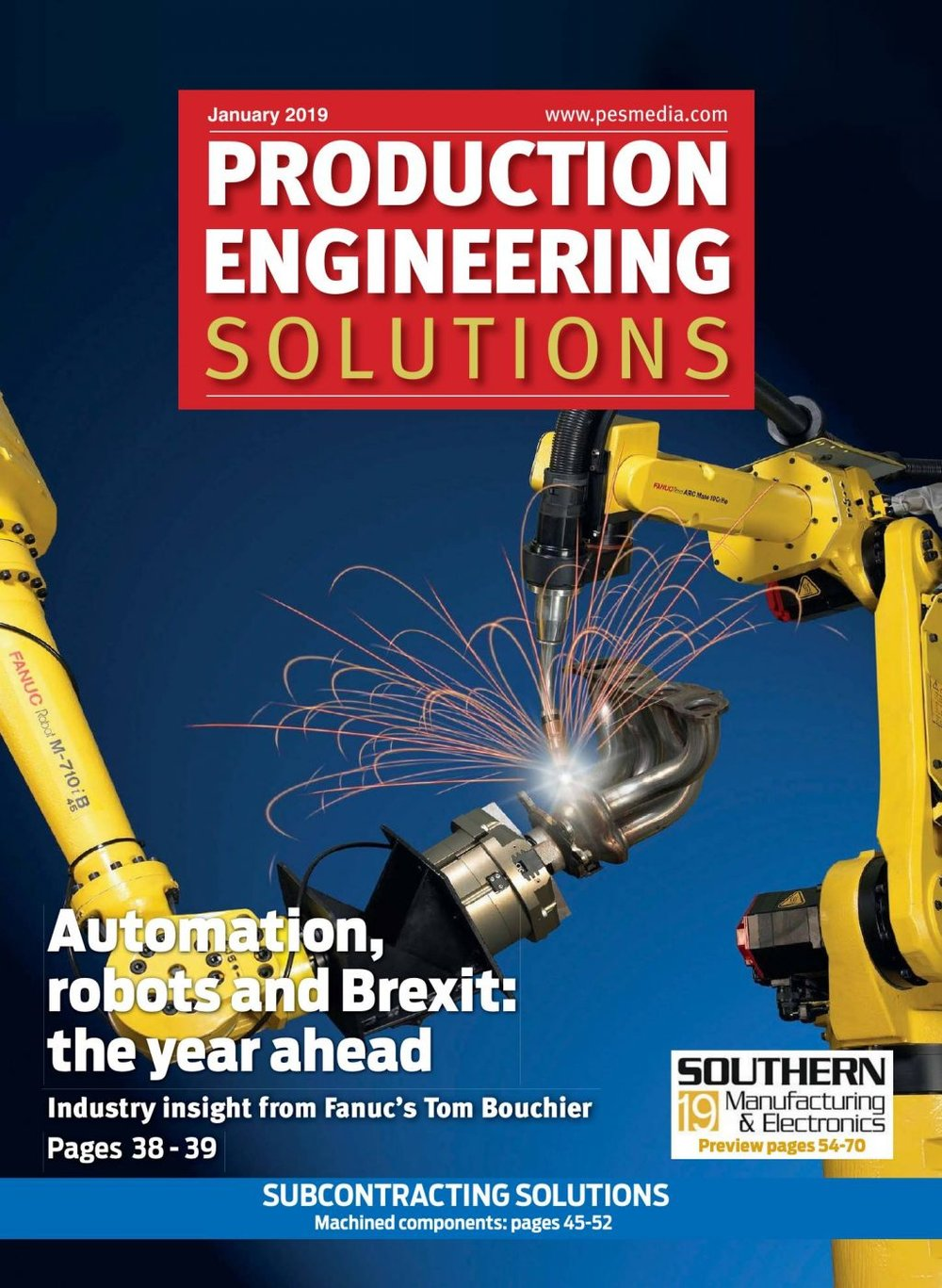 Production Engineering Solutions(pesmedia.com) - Circulated to a carefully researched and selected readership of over 15,000, Production Engineering Solutions delivers the latest news, product developments, topical features, application stories and event previews from across the UK manufacturing industry every month.Learn More