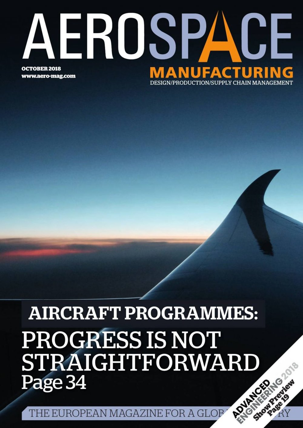 Aerospace Manufacturing magazine(aero-mag.com) - Since its launch at the 2006 Farnborough Airshow, Aerospace Manufacturing (AM) has grown to become the leading B2B publication that focuses on the design, production and supply chain elements of the civil and defence aerospace sectors. AM is published 10 times each year and distributed to over 16,000 decision-making industry professionals within Europe.Learn more