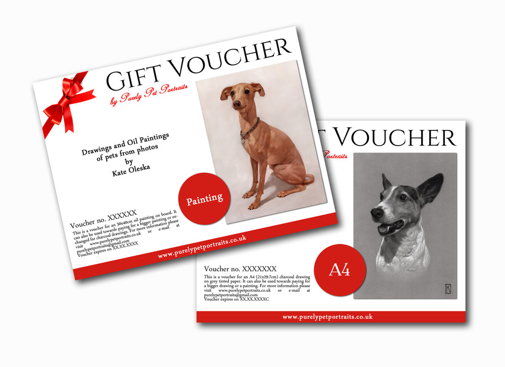 Vouchers - great idea for a Christmas present