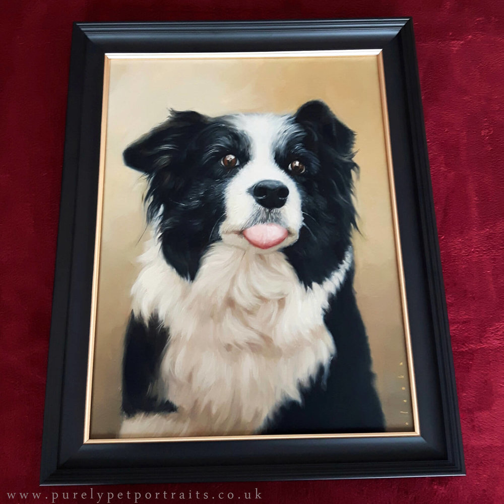 Portrait of Maisie in Frame