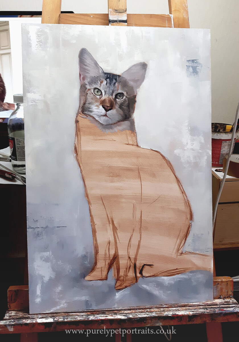 On the easel - See our Work in Progress