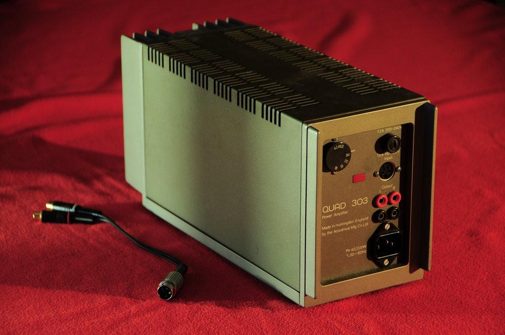 Quad 303 + RCA Cable.JPG