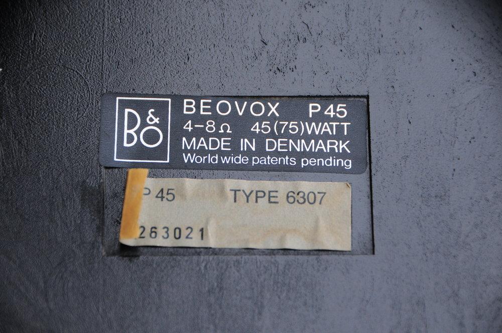 Bang & Olufsen Beovox P45 (3).JPG