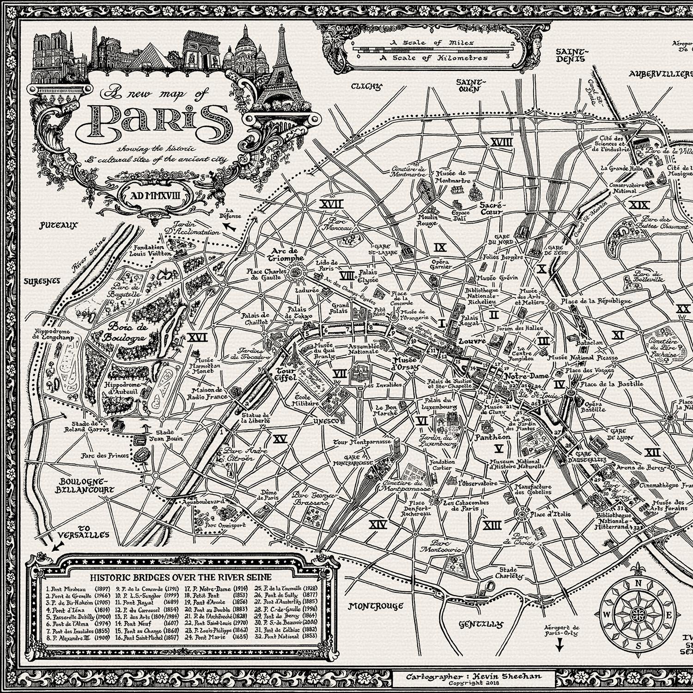 Mcript Maps — The Paris Map on