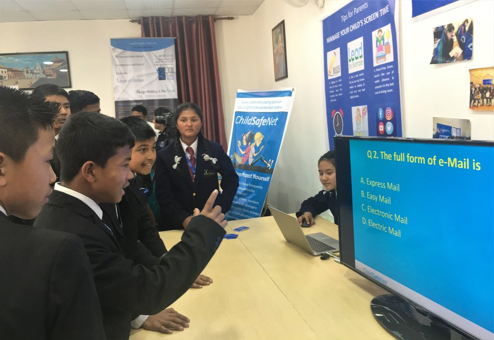 Cyber Safety Awareness Event at Apex Life School