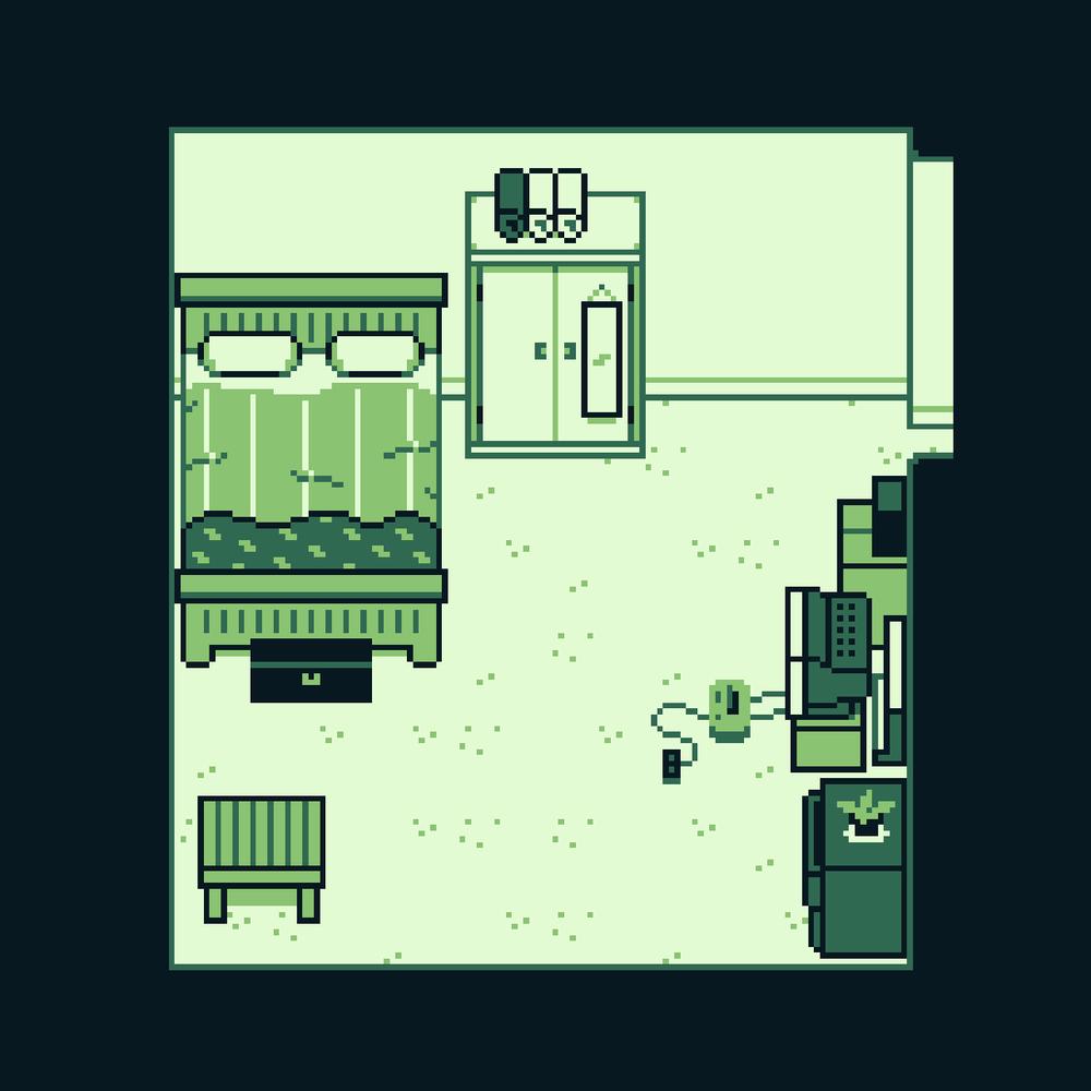 Bedroom 3 Mockup