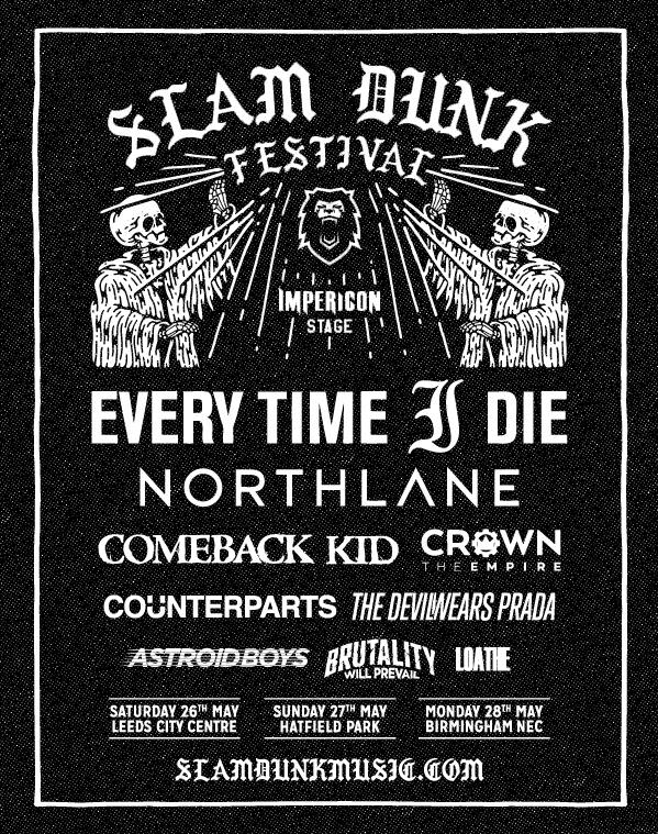 Slam Dunk 2018 Impericon Stage