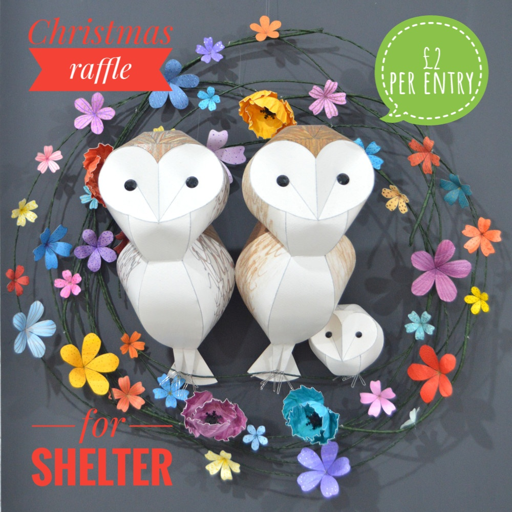 Barn Owl family on a multi floral hoop-01.jpeg