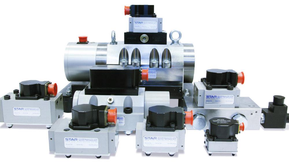 Servoventiler - ZRS levererar servoventiler från Star Hydraulics. Vi servar och reparerar Stars-ventiler och ventiler från andra fabrikat. Stars unika safirtekonolgi och spolrotation gör livslängeden längre jämfört med de flesta andra ventiler.