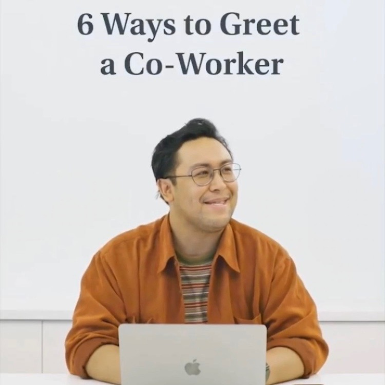 All Hail the Foot Five - How to greet a coworker? Ask Warby Parker.