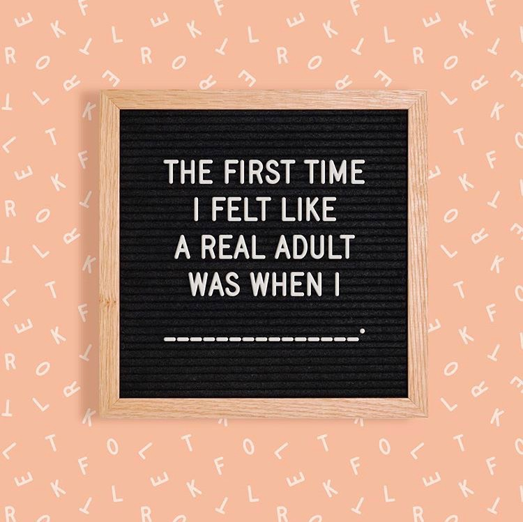 #Adulting - It's not as hard as you think.