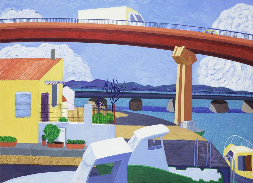 Zwischen den Brücken (Port la Nouvelle)