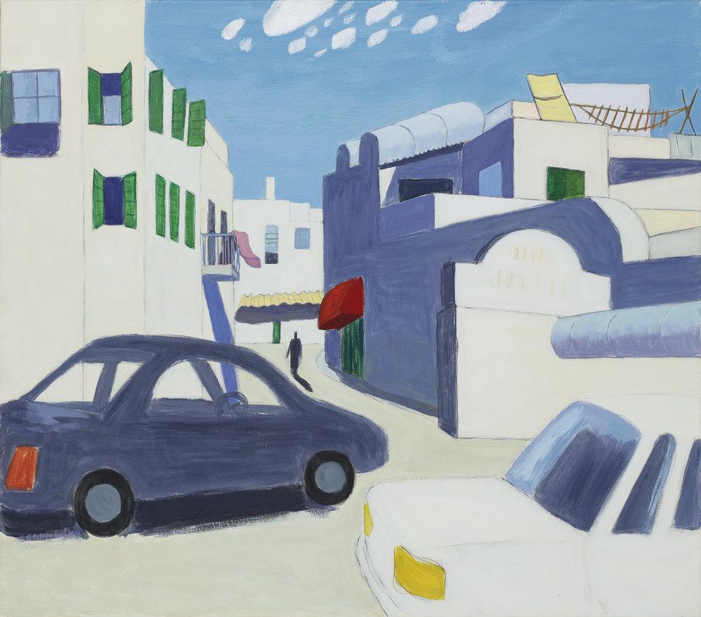 Straße in Akko, Israel